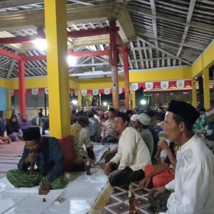 Rapat pembentukan panitia carnaval HUT RI Ke-74 Desa Gandrirojo