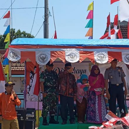 Kali Pertama Pemerintah Kecamatan Sedan Kabupaten Rembang Menggelar Karnaval HUT Ke-74 RI